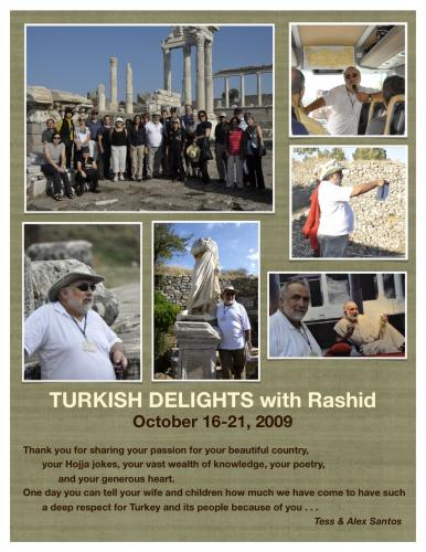 TURKISH DELIGHTS WITH RASHID